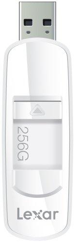 Lexar JumpDrive S73 256GB USB 3.0 Flash Drive LJDS73-256ABNL (White) (Usb Flash Key Media)
