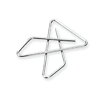 Amazon.com : ACCO Ideal Butterfly Paper Clamps, Steel Wire, Small ...