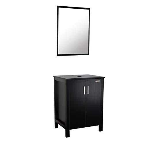 - LUCKWIND Bathroom Vanity Cabinet,Modern 24