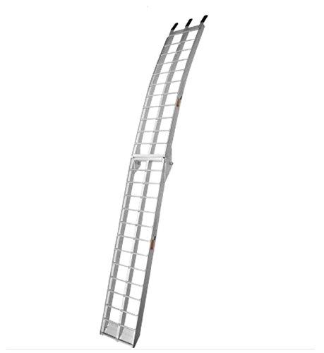 Motorsport Products Aluminum Folding Ramp - 89in.L x 12in.W 91-4000