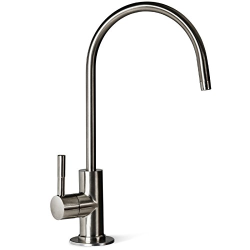 Brushed Nickel High Spout - 1