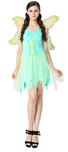 Cohaco Women's Fairytale Costume (Tinkerbell Style: One size) (Tinkerbell Costume For Adults)