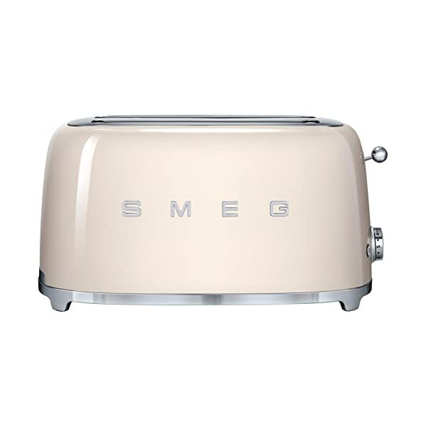 Smeg 4-Slice Toaster-Cream 1