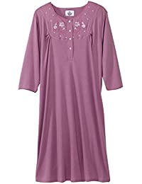 Womens Adaptive Cotton Knit Hospital Gown - Assisted 8079fbb8f