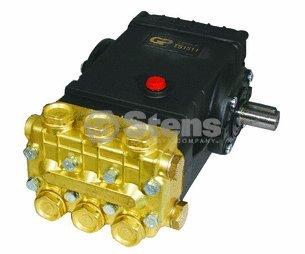 Pump, Triplex, 4GPM@3500PSI, 1450 RPM, 24mm Solid Shaft by General Pump