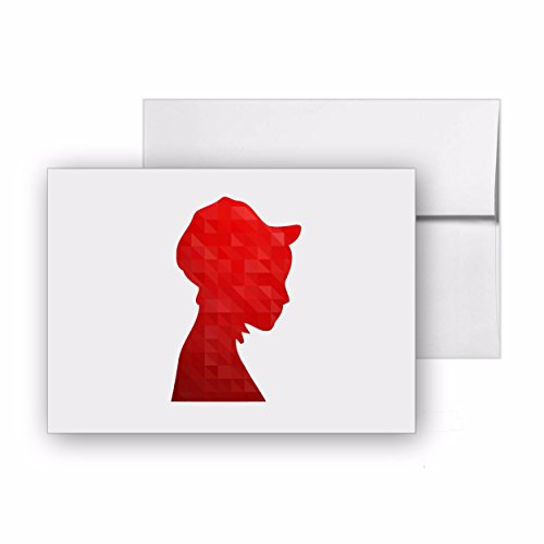 Handmaiden Pilgrim Pioneer Woman Thanksgiving, Blank Card Invitation Pack, 15 cards at 4x6, with White Envelopes, Item 1321681 -