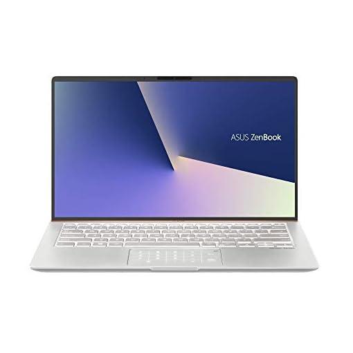 """ASUS ZenBook 14 UX433FA-A5144T - Portátil de 14"""" FHD (Intel Core i7-8565U, 8 GB RAM, 256 GB SSD, Intel UHD Graphics 620, Windows 10) Metal Plata Carámbano - Teclado QWERTY Español 1"""