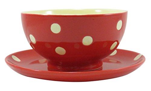Soup Dessert Ceramic Bowl and Plate 4.5