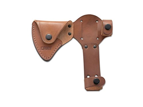 CRKT D2730 RMJ Woods Chogan T-Hawk Leather Axe Sheath, - Tomahawk Hawk