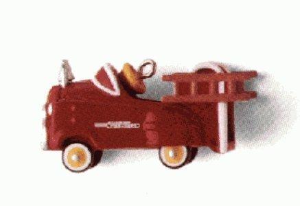 Hallmark Kiddy Car Classics Murray Fire Truck 2nd in Series Miniature 1996 Ornament
