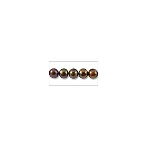 JewelrySupply Freshwater Potato Pearl Peacock Brown 8-9mm (16