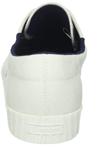 Tretorn Mens Nylite Toile Fashion Sneaker Blanc / Cabanon Marine