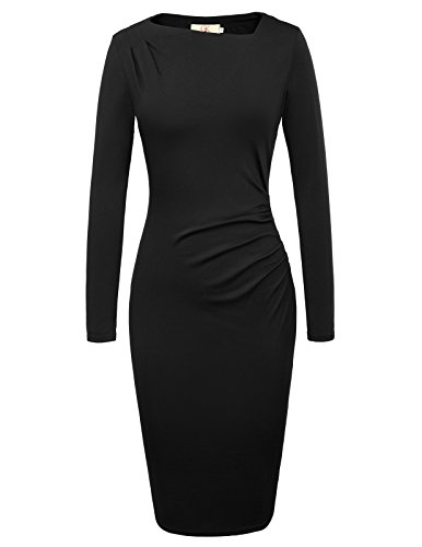 Zipper Sheath Dress - 8