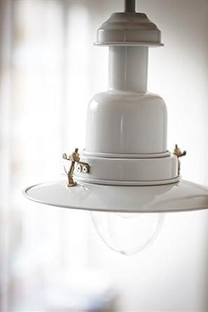 Garden Trading - Lámpara de techo de acero inoxidable (41 cm ...