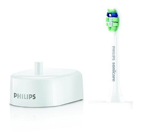 Philips Sonicare EasyClean Zahnbürste HX6512/45 - elektrische Schallzahnbürste mit Clean-Putzprogramm, Timer, Ladegerät & zwei Aufsteckbürsten – Weiß 3