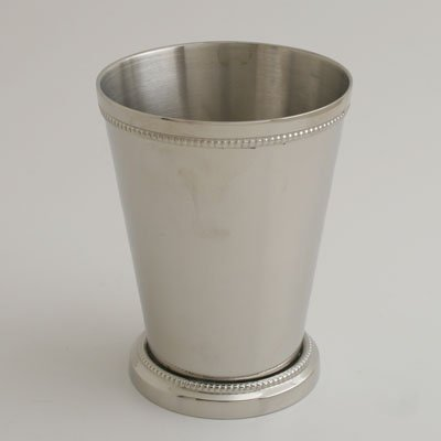 Liards Nickel 4 1/2'' H Mint Julep Cup - Set of 2
