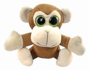 Amazon.com  Monkey BIG EYE Plush Toy ~ 6   Adorable Soft Monkey with ... 18e406177381