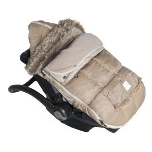 7AM Enfant ''Le Sac Igloo'' Footmuff, Converts into a Single Panel Stroller and Car Seat Cover, Beige, Large by 7AM Enfant