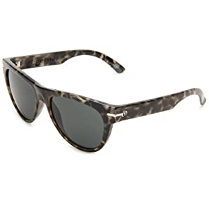 Electric Visual Women's Arcolux Round Sunglasses,Mcqueen Frame/Grey Lens,One Size
