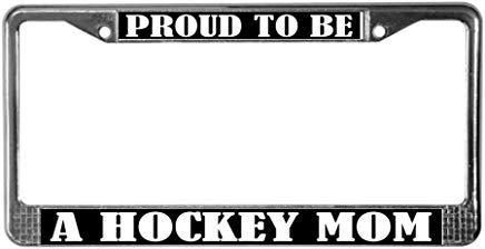 hockey mom license plate frame - 7