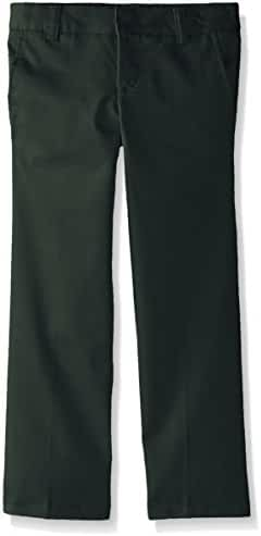French Toast Girls' Adjustable Waist Flat Front Bootcut Pant