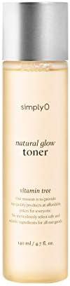 [simplyO] Natural Glow Facial Toner | 83% Sea Buckthorn Extract | Korean Skin Care, Vegan, for Sensitive and D