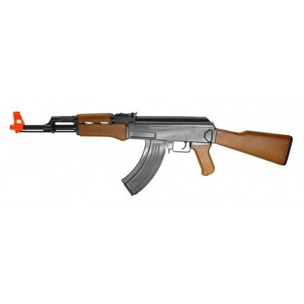 Cyma ZM93 AK-47 Airsoft Gun Spring Rifle with Fixed Stock, Full Sized FPS 295
