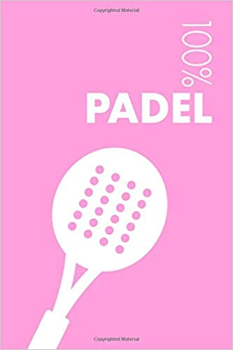Womens Padel Notebook: Blank Lined Womens Padel Journal For ...