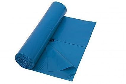 Bolsa de basura, 120 Litros, Tipo 60, azul, 700 x 1100 mm ...