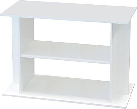 Aquatlantis- Mueble para acuario 100 de color blanco: Amazon.es: Productos para mascotas