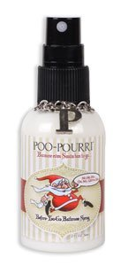 Poo-Pourri Bathroom Christmas Santa Poo 2 Oz. Spray Bottle