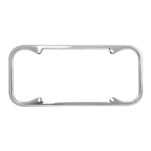 KNS Accessories KC5011 Chrome License Frame (Fits 1940-1955 Vintage California Plates Only), 1 pc