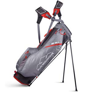 Sun Mountain 02SM257 GYRD 2019 2.5+ Stand Bag Grey/Red, Grey|Red, Large