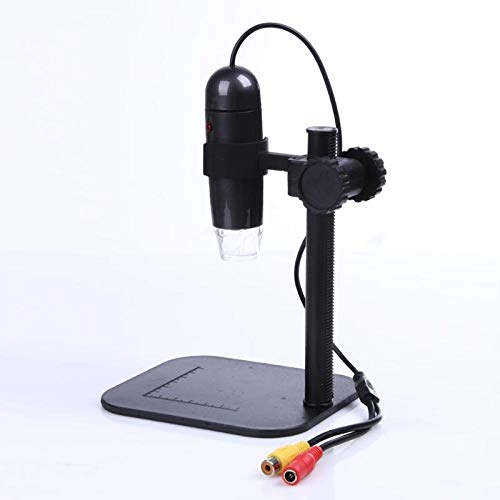 Microscopes - 25x 400x Photo Capture 8 Led 40000mlux Av Digital Microscope Endoscope Magnifier Loupe Camera Tv - With For Phones Trinocular Iphone Seller Stereo Works Kids Led