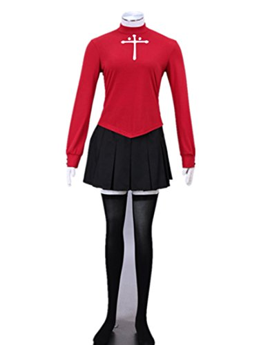 Love Fate Stay Night Cosplay Costume-Tohsaka Rin 4Pcs Set - Tohsaka Rin Costume