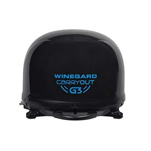 Winegard GM-9035 Black Carryout G3 RVSatellite Antenna