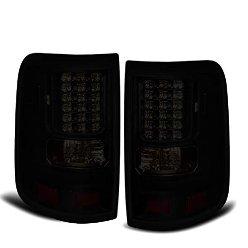 Fit 2004-2008 Ford F150 Style Side Only Led Tail Lights Black Housing/Smoked Lens
