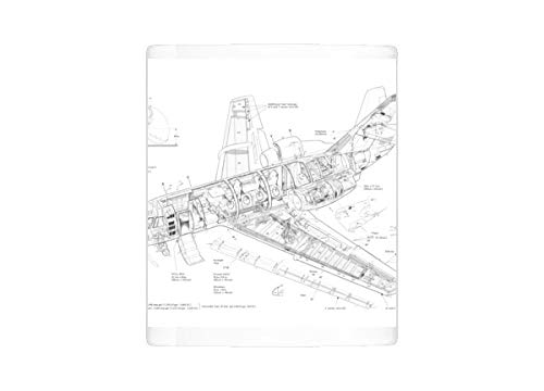 Mug of Dassault Fan Jet Falcon Cutaway Drawing (4507257)
