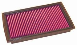 K&N ENGINEERING 33-2157 Air Filter; Panel; H-1.125 in.; L-6.5 in.; W-10.25 in.;