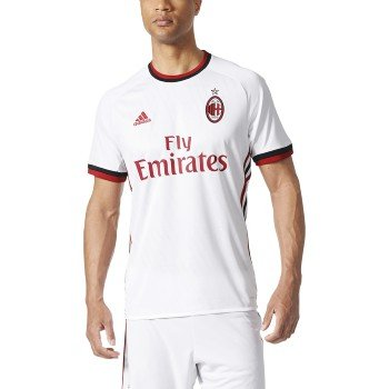 AC MILAN AWAY JERSEY MEN'S XL WHITE/RED/BLACK - Ac Milan White Jersey