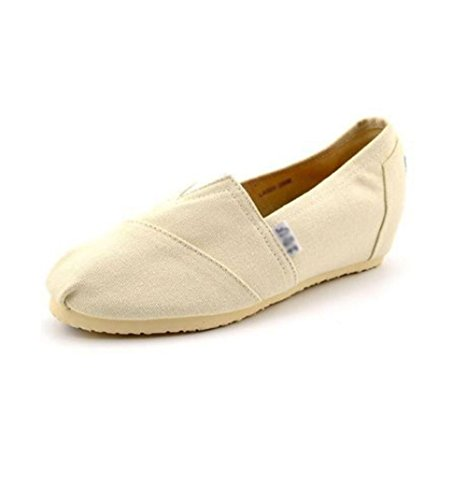 ZFNYY Dans L'Augmentation des Chaussures en Tissu Coin Chaussures Chaussures étudiants Chaussures de Toile Seule Matière Caoutchouc 3XhFD2zc