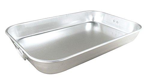 Sunrise Kitchen Supply Aluminum Baking Pan w/Handles (Light Weight)