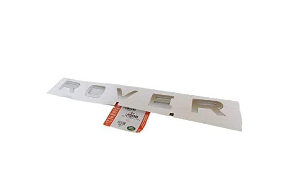 GENUINE LAND ROVER FRONT HOOD NAME PLATERANGE ROVER RANGE EVOQUE OEM NEW LR026394 LR026395