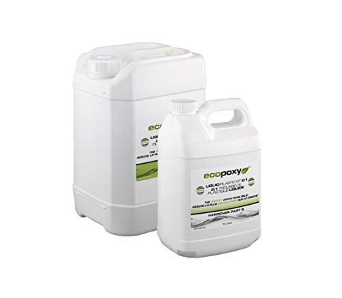EcoPoxy - Liquid Plastic (1, 30 Liter - 2:1 Ratio)
