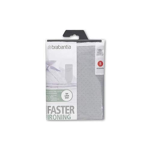 Brabantia 317705 Ironing Board Cover 49 x 15 Inch (Size B, Standard) - Gray