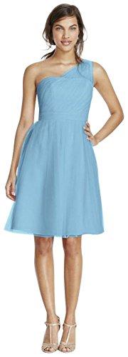 Buy capri color bridesmaid dresses - 1
