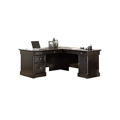 Sauder Palladia L-Desk, Wind Oak finish