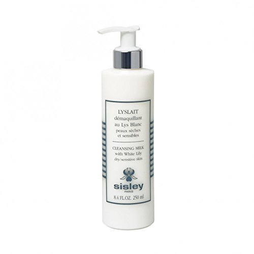 Sisley Cleansing Milk With White Lily - Dry Sensitive Skin Cleansing Milk