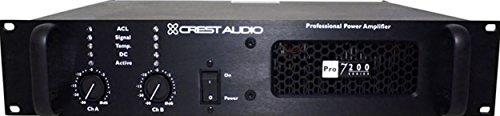 - Crest Audio Pro7200 3400 Watt Professional Power Amplifier PRO 7200