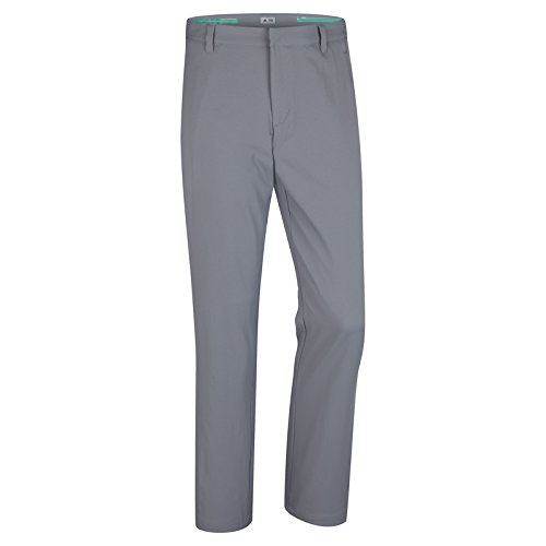 adidas Golf Men's Puremotion Stretch 3 Stripes Pants, Vista Grey/White, 4230